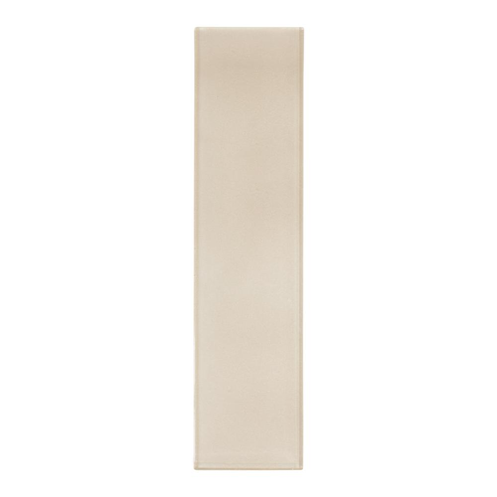 Artic 4 in. x 16 in. Glass Wall Tile (10.56 sq.