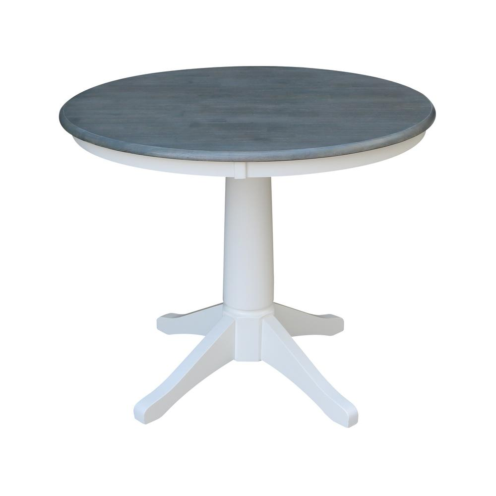 International Concepts Round Top Pedestal Table 36-Inch