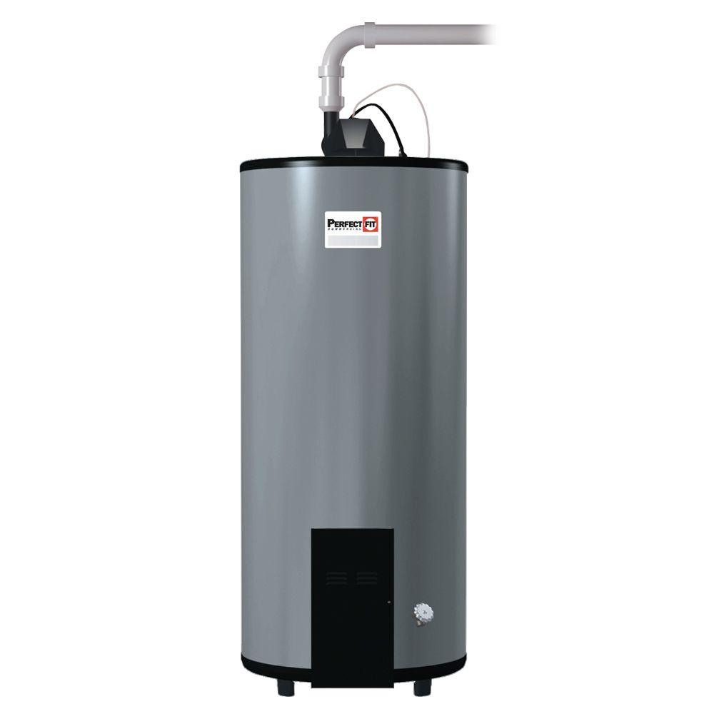 Perfect Fit 75 Gal. 3 Year 75,000 BTU Low NOx Natural Gas Commercial Power Vent Water Heater
