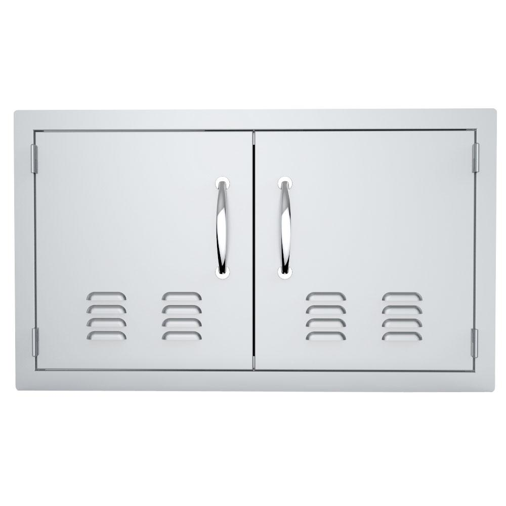 Classic Series 36 in. 304 Stainless Steel Access Door with Vents