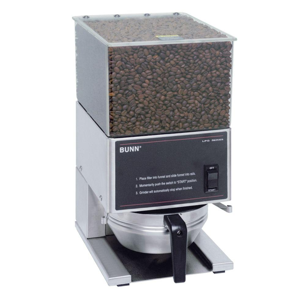 BUNN Low Profile Series 6 lb. Coffee Grinder, Stainless
