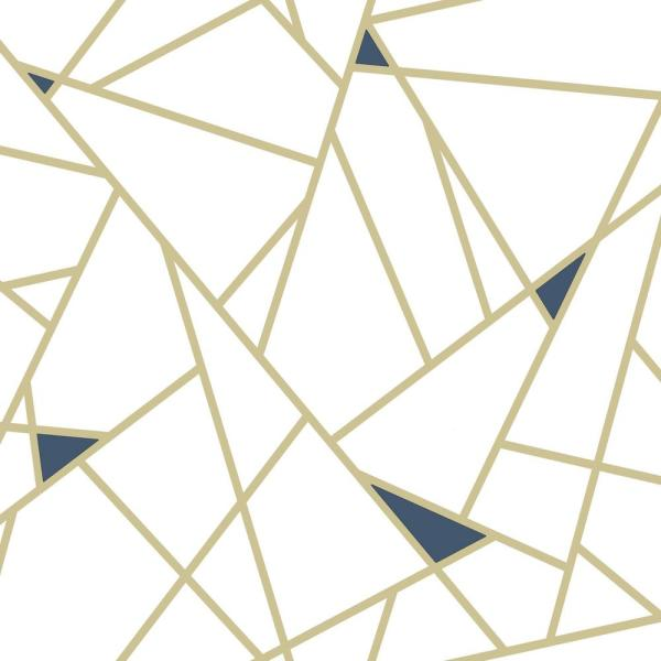 York Wallcoverings 28 18 Sq Ft Gold Fracture Peel And Stick Wallpaper Rmk11268wp The Home Depot