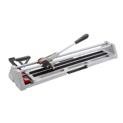 POP 21 in. Tile Cutter with Guide and Storage Case