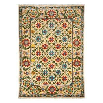 Arts Ivory 4 ft. x 6 ft. Indoor Area Rug