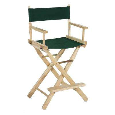 Natural Wood Folding Director's Chair