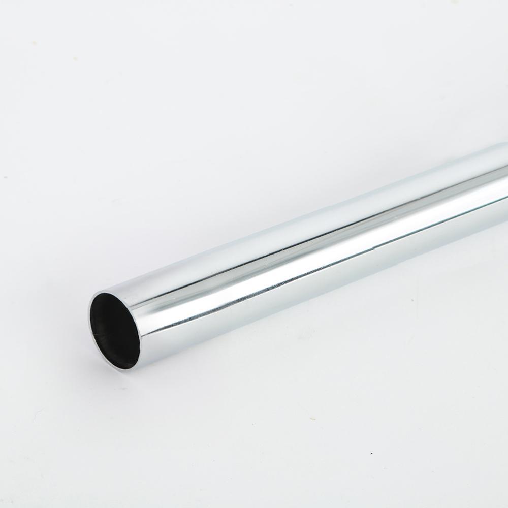 Everbilt 96 in. Chrome Heavy Duty Closet Pole