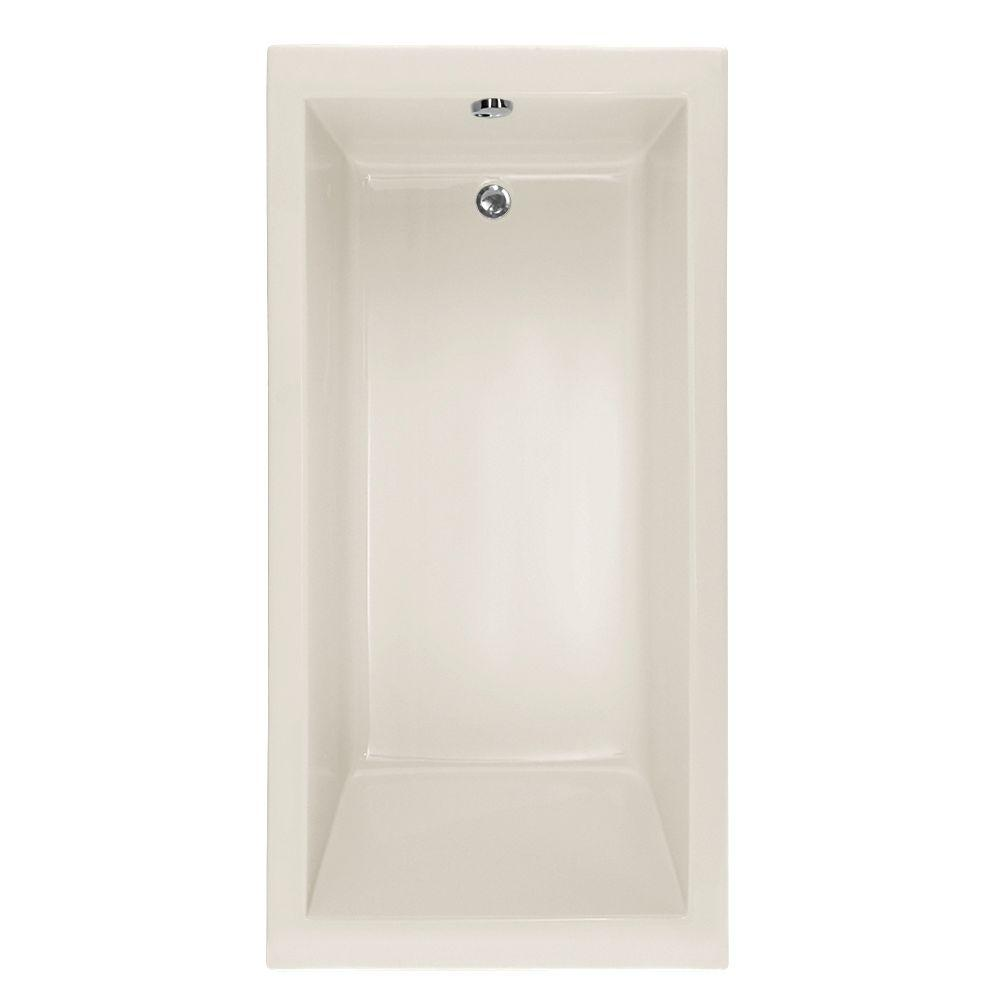 Hydro Systems Studio Lacey 5 ft. Air Bath Tub with Reversible Drain ...