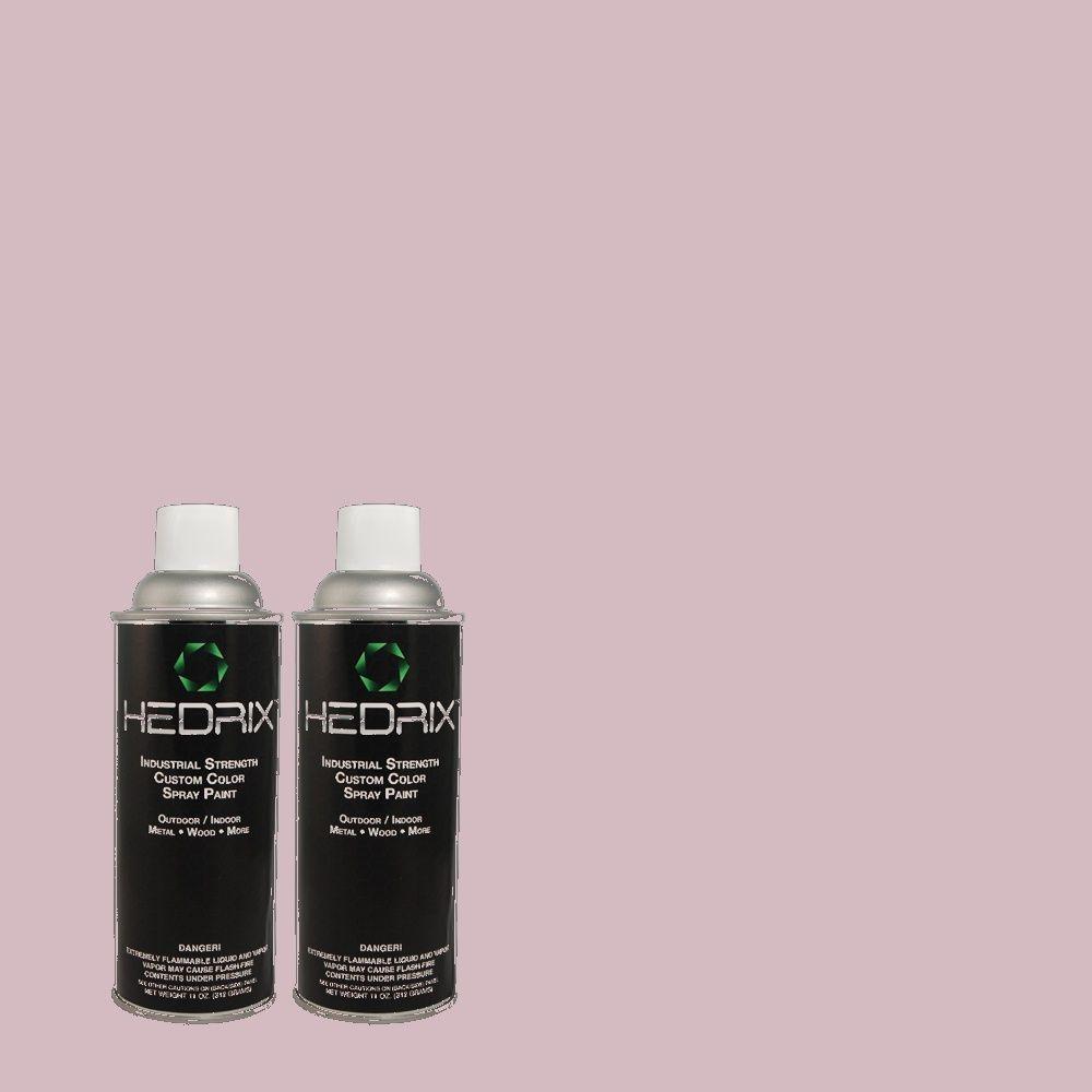 Hedrix 11 oz. Match of 670D-4 Ballad Semi-Gloss Custom Spray Paint (2-Pack)