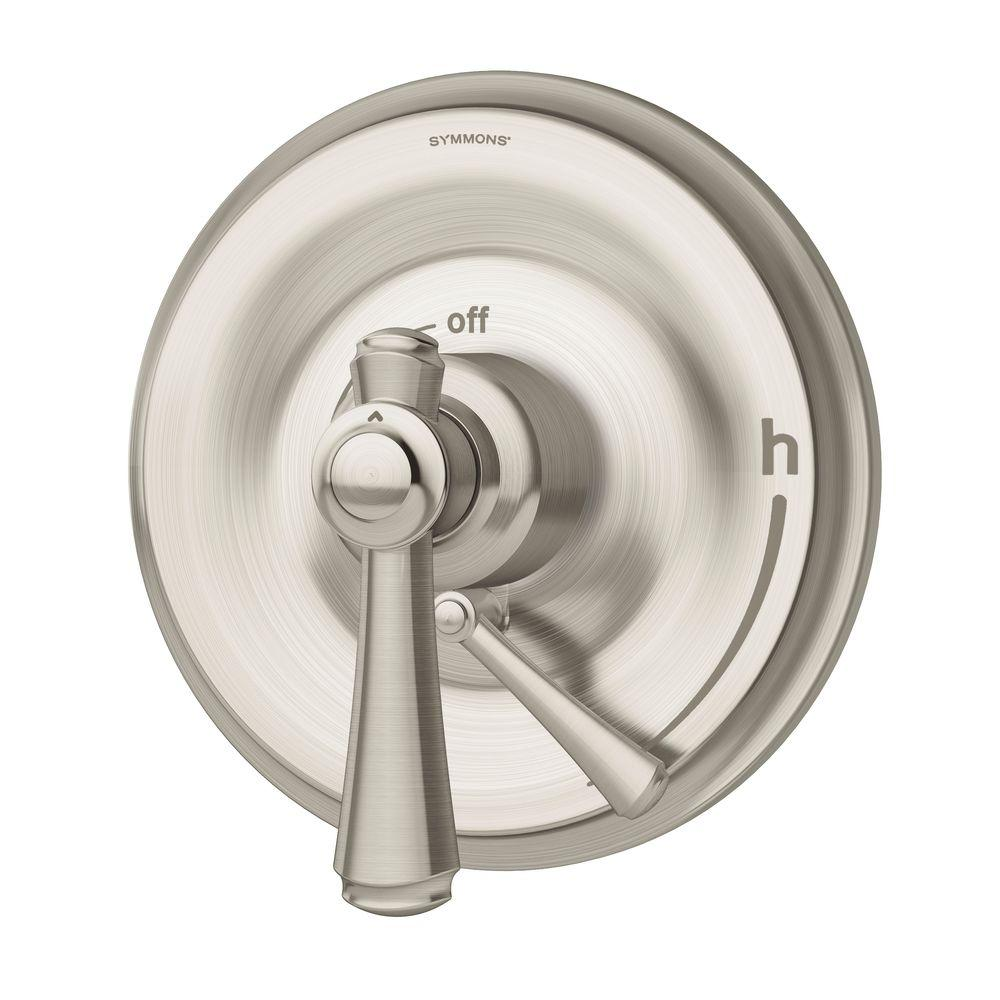Degas 1-Handle Shower Valve with Trim in Satin Nickel
