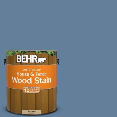 1 gal. #ICC-74 Provence Solid Color House and Fence Exterior Wood Stain