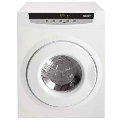 3.42 cu. ft. Electric Dryer in White