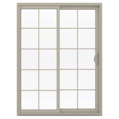 60 in x 80 in v 2500 desert sand vinyl right hand - 60 Patio Door