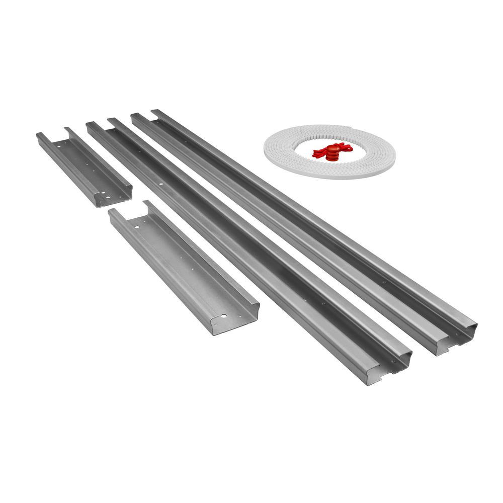 Garage Door Rail Extension Kit Belt Drive 12 Ft Durable