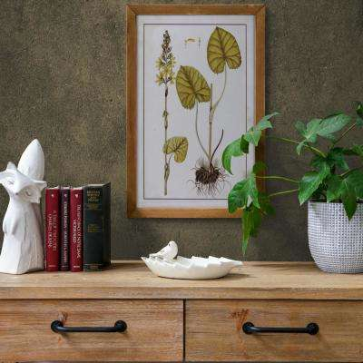 "23.75 in. x 16.75 in. ""Botanical Illustration"" Printed Wall Art"