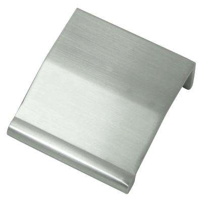 Contempo 1-1/4 in. Brushed Satin Nickel Edge Pull