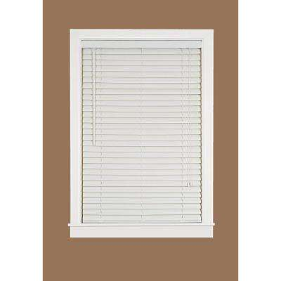 2 in. Light Filtering Vinyl Mini Blind