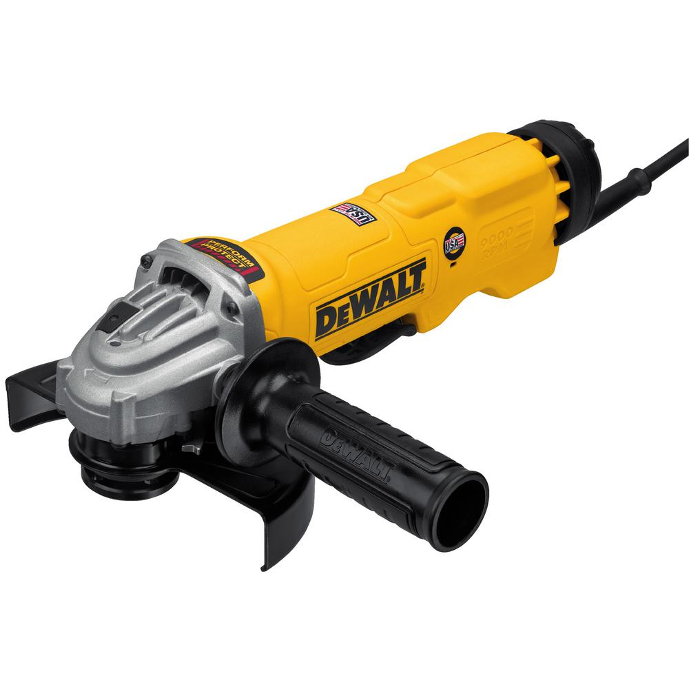 13 Amp Corded 6 in. High Performance Angle Grinder with No-Lock-On