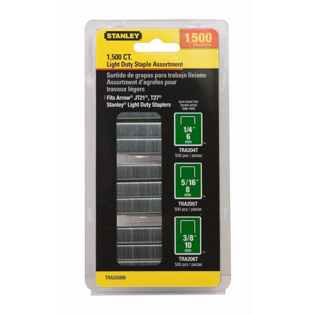 null 1,500 Units 29/64 in. Wide Light Duty Staples