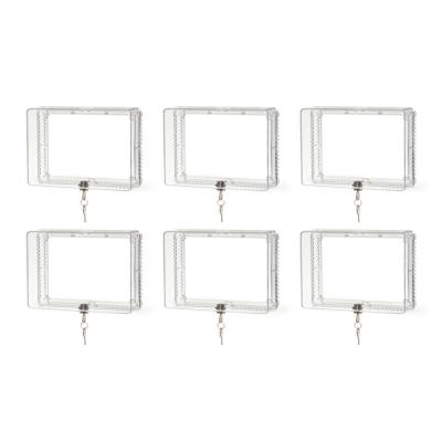 Thermostat Lockbox Cover (6-Pack)