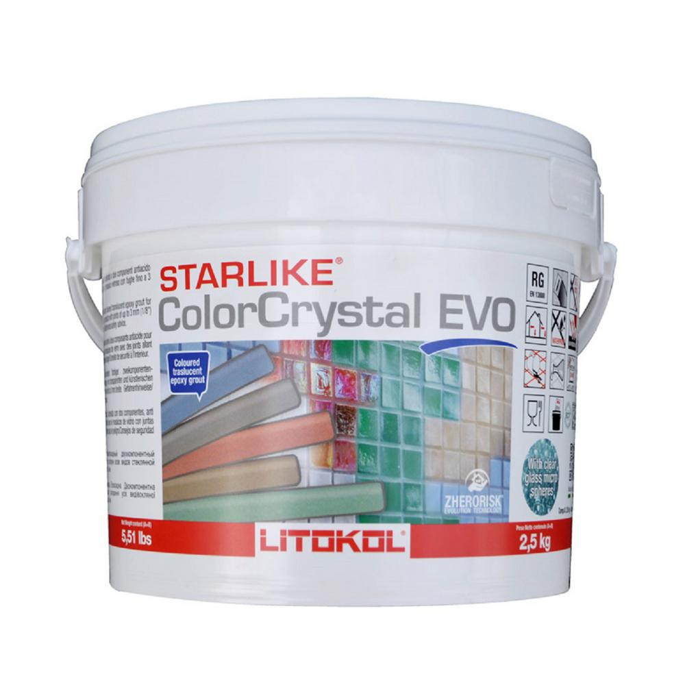 The Tile Doctor 2 5 Kg Starlike Crystal Glass Grout 700 2 5kg The Home Depot