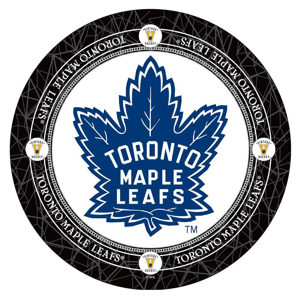 Trademark NHL Toronto Maple Leafs Chrome Pub/Bar Table