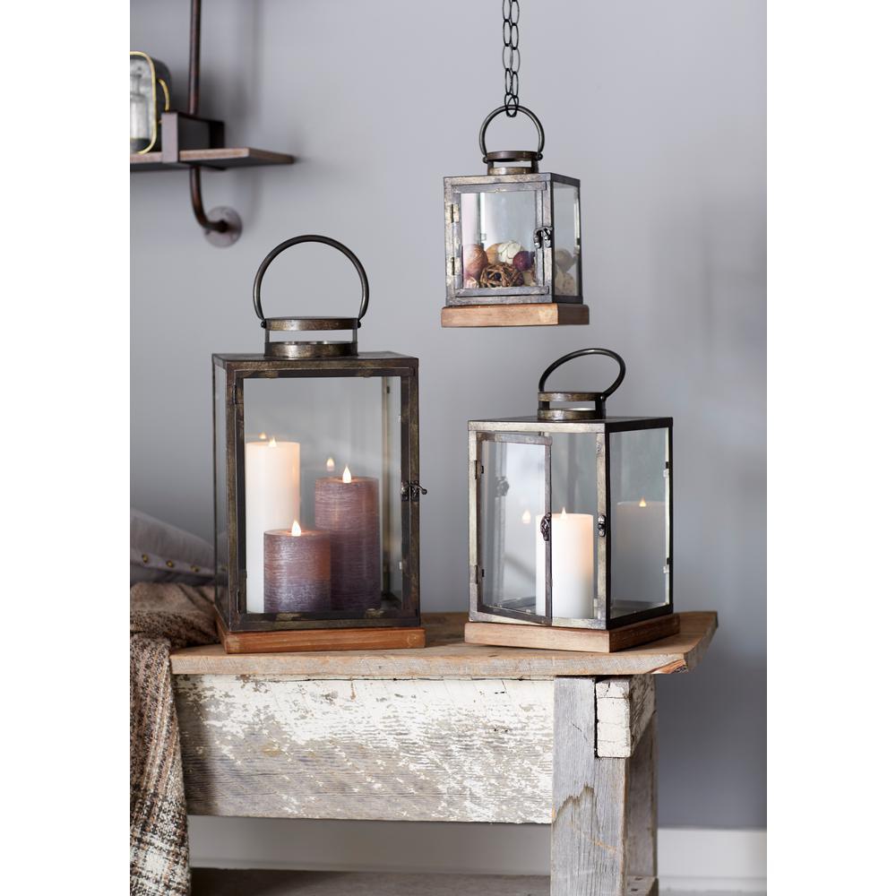 Brown Lanterns (Set of 3)