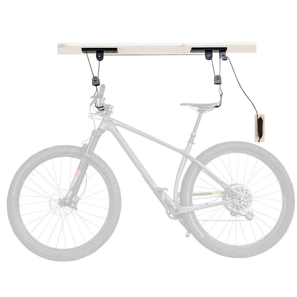 Ceiling Mounted 1-Bike Steel Bike Lift