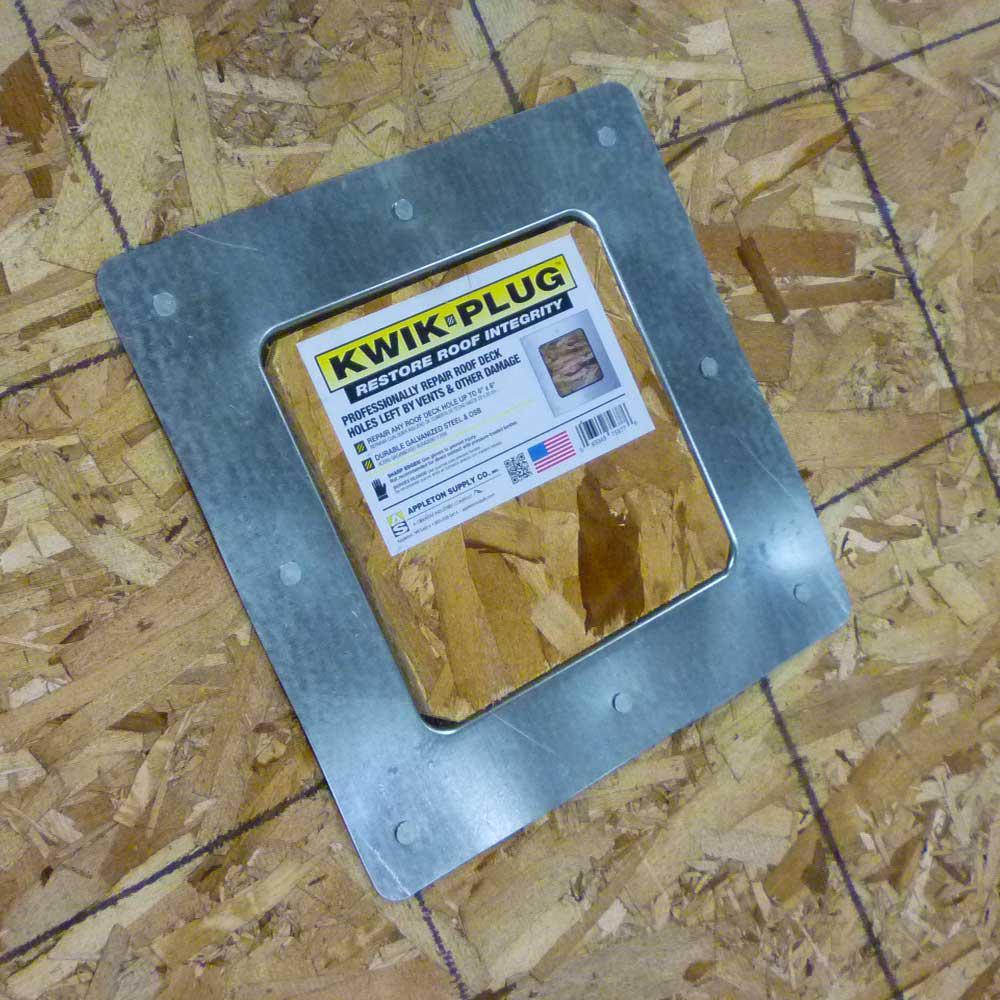 Gibraltar Building Products 8 In X Kwik Plug Roof Repair