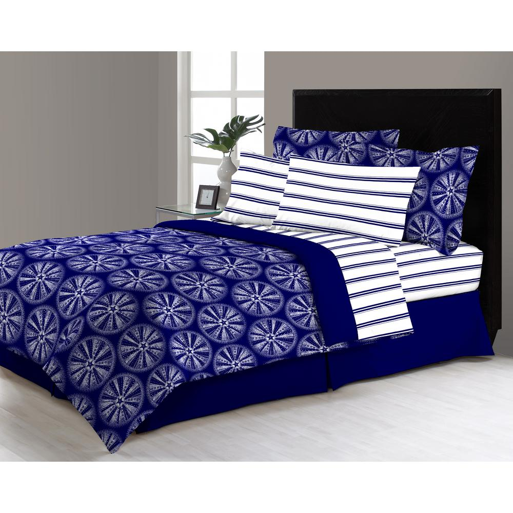 Delray 8-Piece Queen Bed in a Bag Comforter Set