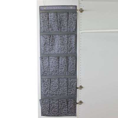Damask Collection Over-the-Door Shoe Organizer