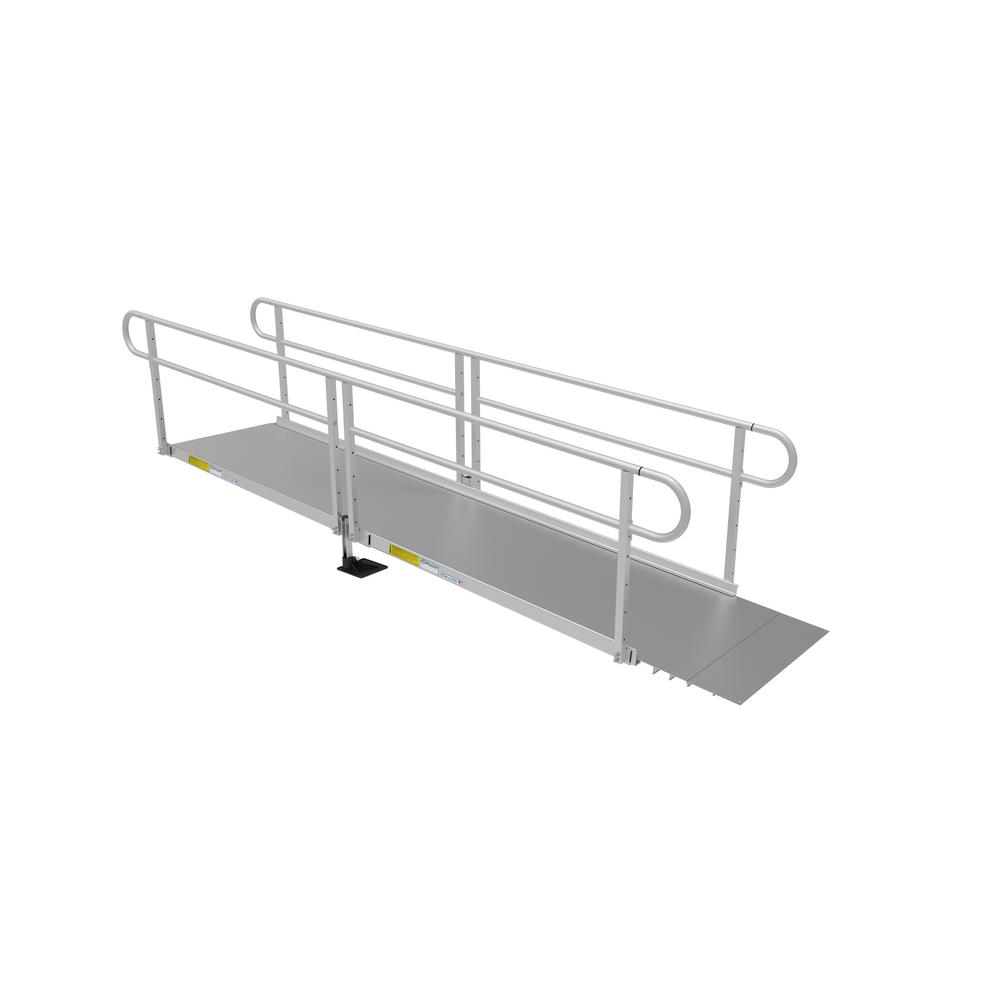 PATHWAY 3G 12 ft. Ramp Kit with Solid Surface Tread and