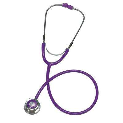 Nurse Mates TimeScope Stethoscope for Adult in Purple
