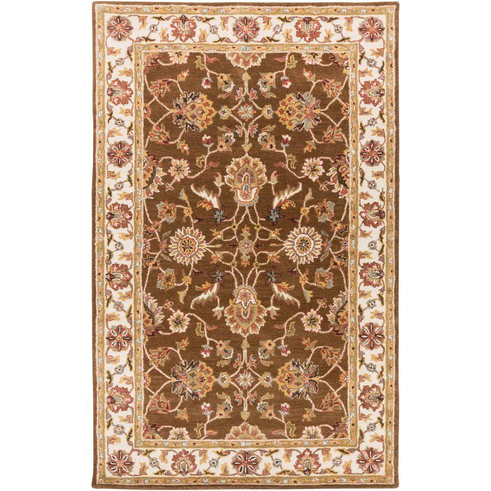Middleton Charlotte Chocolate 8 ft. x 11 ft. Indoor Area Rug