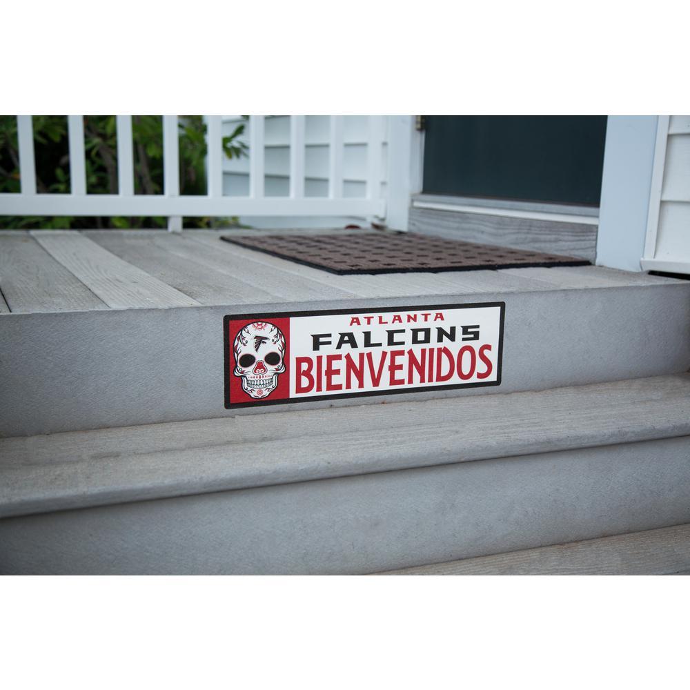 NFL Atlanta Falcons Bienvenidos Step Graphic