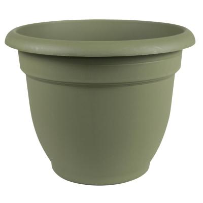 Ariana 20 in. Living Green Plastic Self-Watering Planter
