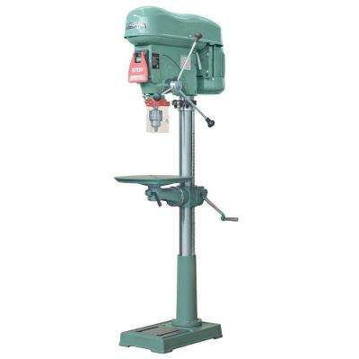 17 in. Extended Stroke Drill Press