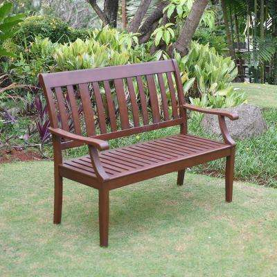 4 ft. Wales Wood Outdoor Bench