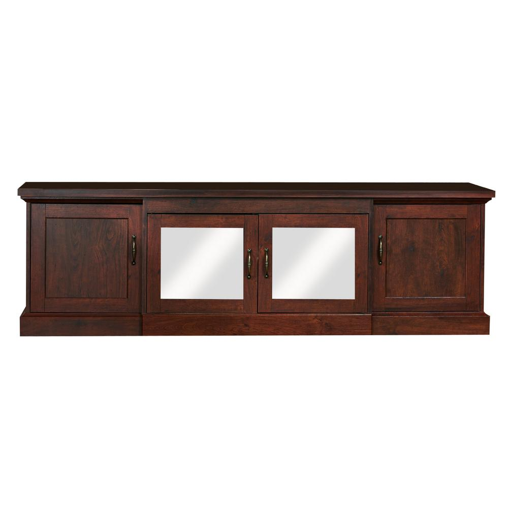 Furniture of america daleni vintage walnut tv stand