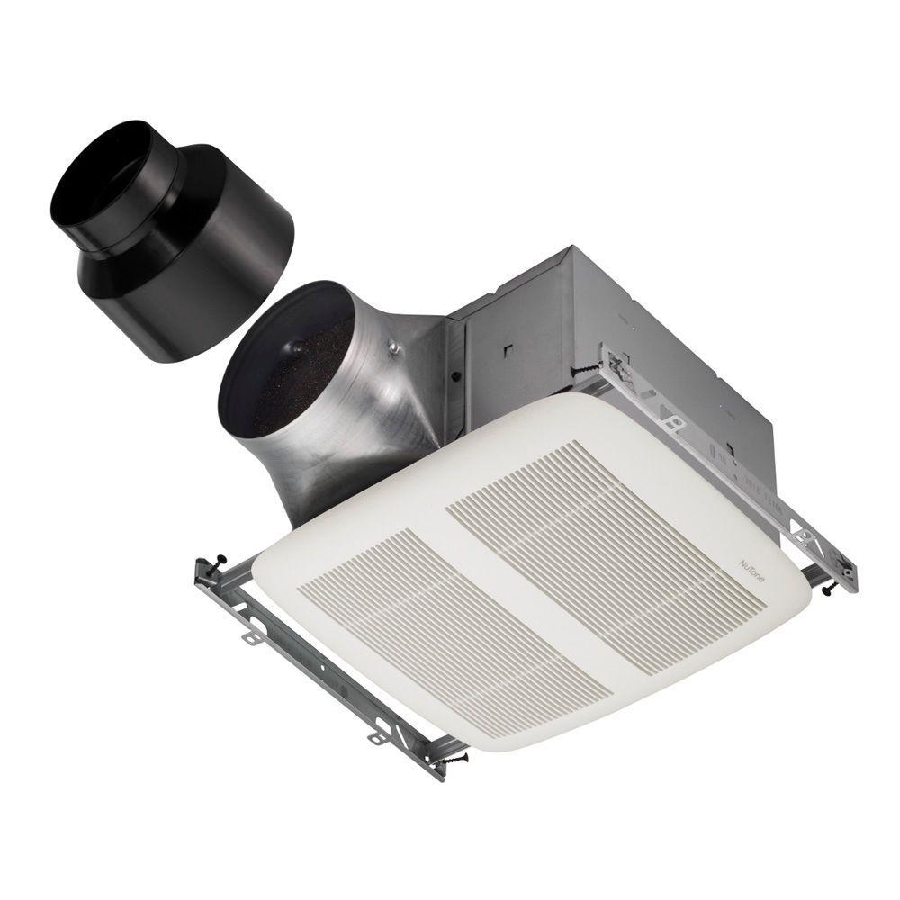 ULTRA GREEN 30 CFM to 80 CFM Ceiling Bathroom Exhaust Fan, ENERGY STAR*