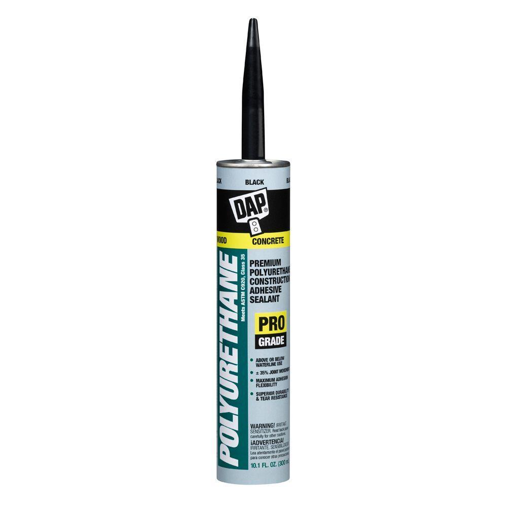 Polyurethane 10.1 oz. Black Premium Construction Adhesive Sealant (12-Pack)