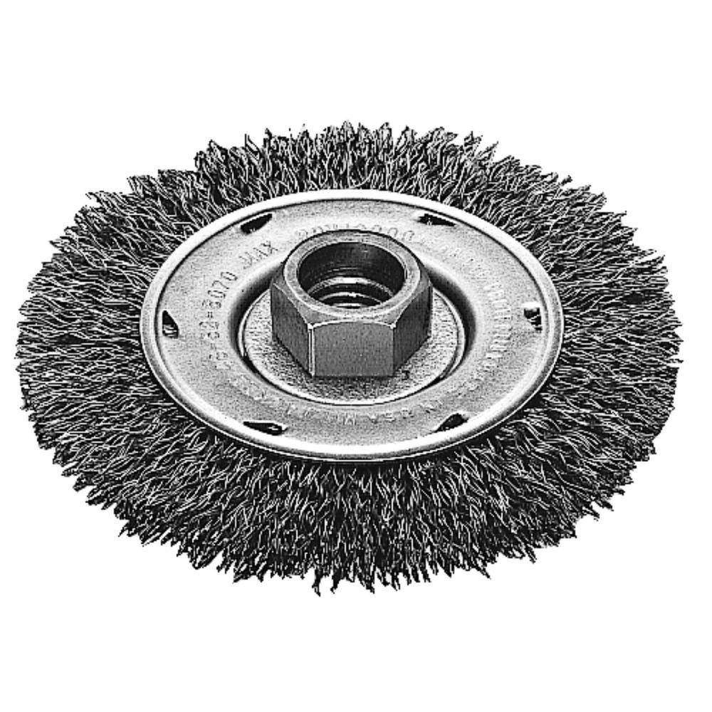 Milwaukee 4 in. Crimped Wire Wheel Brush