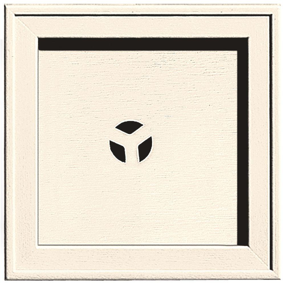 7.75 in. x 7.75 in. #021 Sandstone Beige Recessed Square Mounting