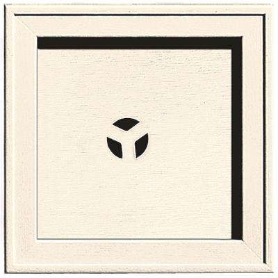 7.75 in. x 7.75 in. #021 Sandstone Beige Recessed Square Mounting Block