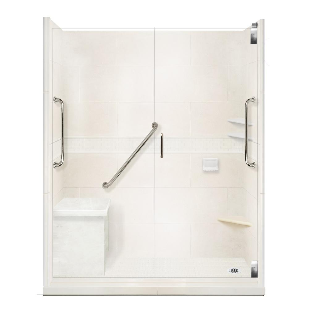 American Bath Factory Classic Freedom Grand Hinged 34 In
