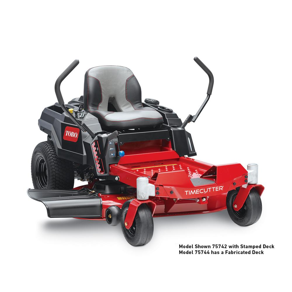 Toro TimeCutter 42 in. IronForged Deck 22.5 HP Commerc V-Twin Gas Dual Hydrostic Zero-Turn Riding Mower with Smart Speed