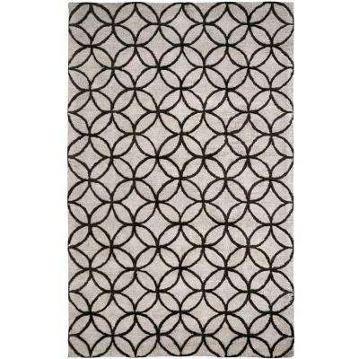 Broadway Taupe 2 ft. x 4 ft. Indoor Area Rug