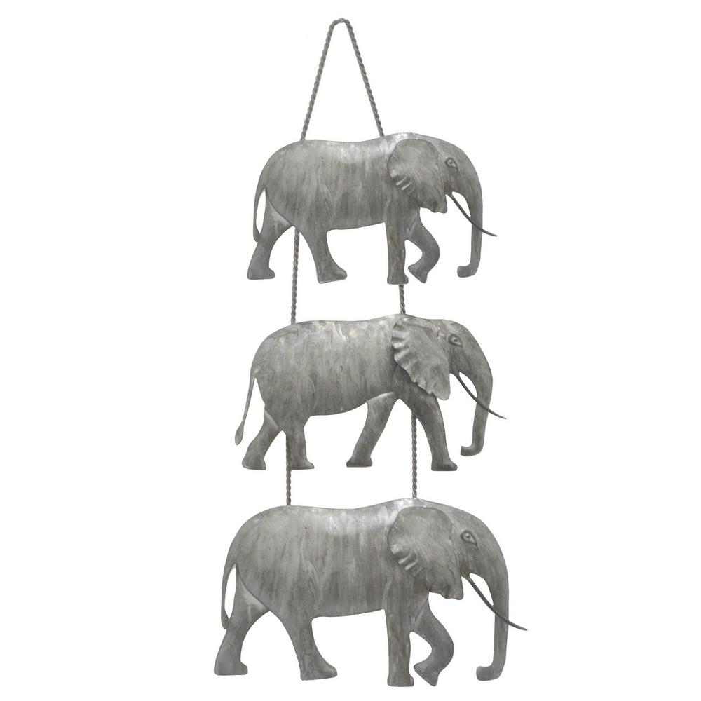 THREE HANDS 3 Elephant Wall Art