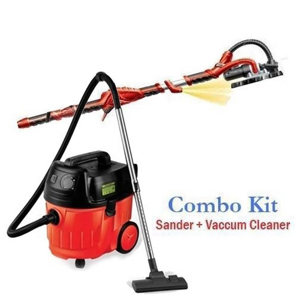 Heavy Duty Portable Drywall Sander and Dust Free Vacuum