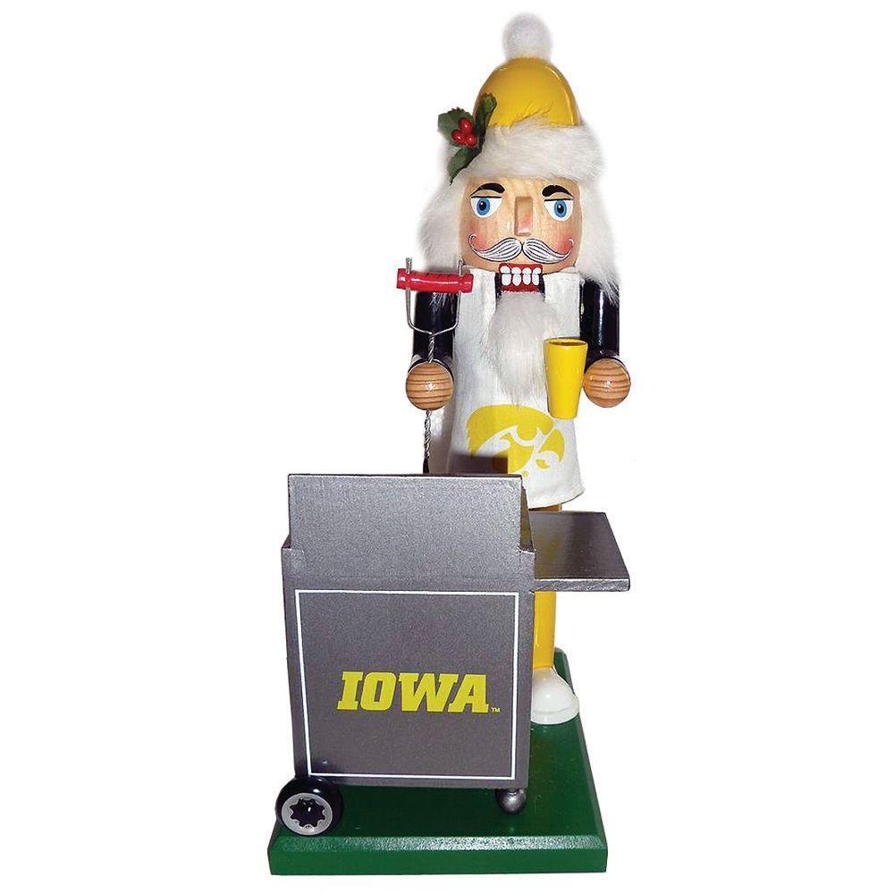 12 in. Iowa Hawkeyes Tailgating Nutcracker
