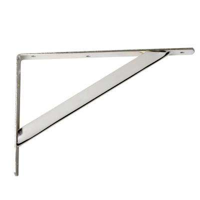11.25 in. x 1.05 in. Chrome Shelf Bracket